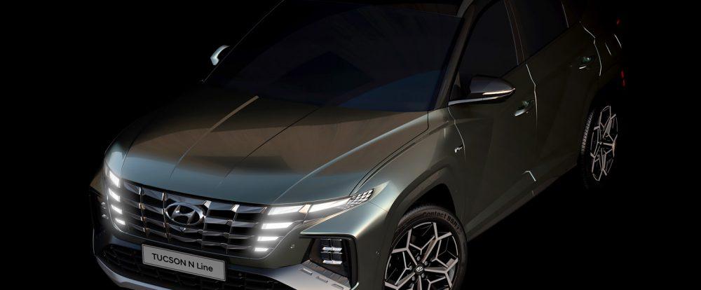 Hyundai показал самую мощную версию кроссовера Tucson