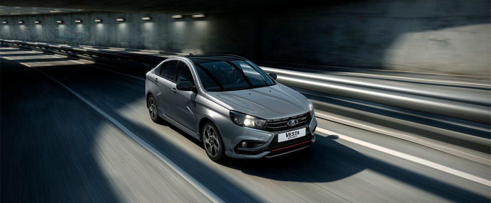 АвтоВАЗ начал продавать новую версию спортивной Lada Vesta