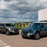 Land Rover начал продажи нового Defender в России