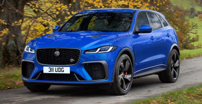 Jaguar представил обновленную спорт-версию кроссовера F-Pace