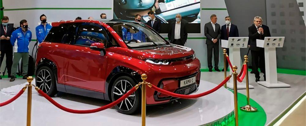 КамАЗ показал недорогой легковой автомобиль «Кама-1»