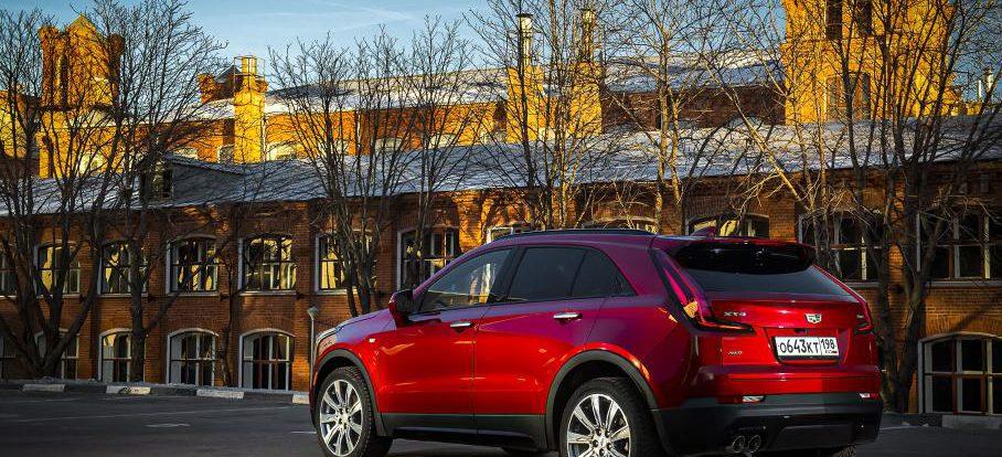 В России стартовали продажи Cadillac XT4