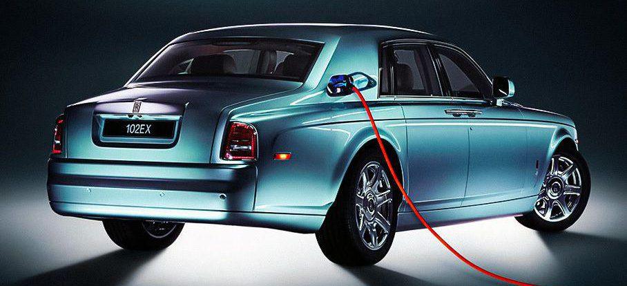 Появились подробности о первом электрокаре Rolls-Royce