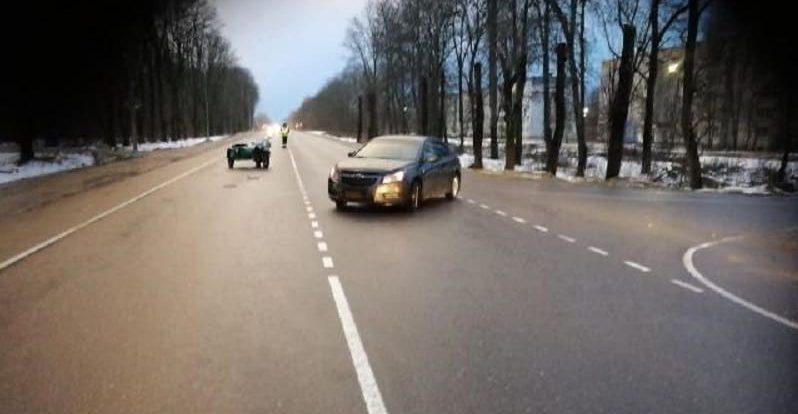 В Смоленской области в ДТП пострадал пенсионер на мотоцикле