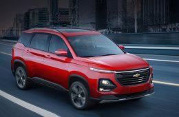 Улучшенная Chevrolet Captiva вышла на старт в Мексике