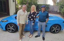 Сильвестр Сталлоне получил новый Chevrolet Corvette вне очереди