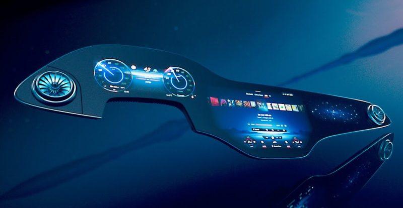 Mercedes-Benz показал «приборную панель будущего» для нового электромобиля