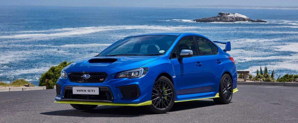 Новый Subaru WRX: первые изображения