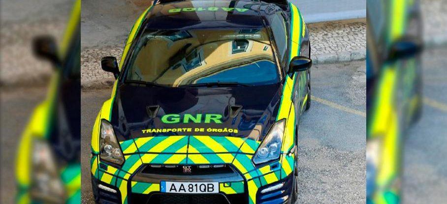Конфискованный Nissan GT-R будет перевозить донорские органы
