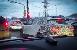 Посмотрите, как горят светодиодные фонари обновленной Lada Vesta