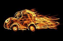 Житель Дорогобужского района после ссоры сжег автомобиль оппонента
