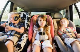 Поездки с ребенком на машине