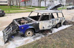 В Смоленской области дотла сгорел «ВАЗ»