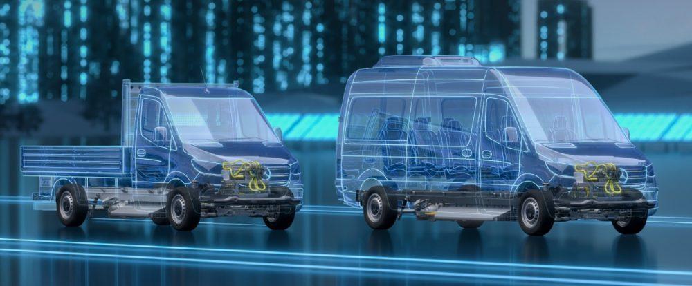 Расширение географии: Mercedes-Benz будет выпускать новый eSprinter на трёх заводах