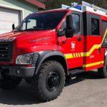 В одной из стран Евросоюза будет работать пожарный автомобиль на базе «ГАЗ Садко Некст»