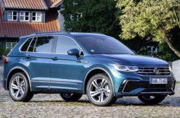Кроссовер Volkswagen Tiguan российской сборки доступен в новой версии
