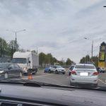 В Смоленске на улице Кутузова произошла авария