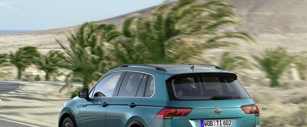 Глобальный растянутый Volkswagen Tiguan не стал гибридом после рестайлинга