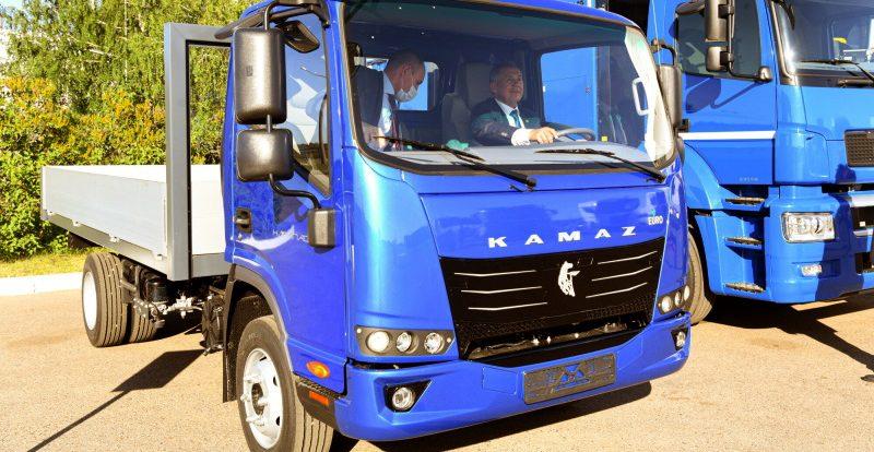 Новый «маленький» КамАЗ: появились первые фото грузовика