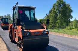 В рамках нацпроекта продолжается ремонт Старой Смоленской дороги