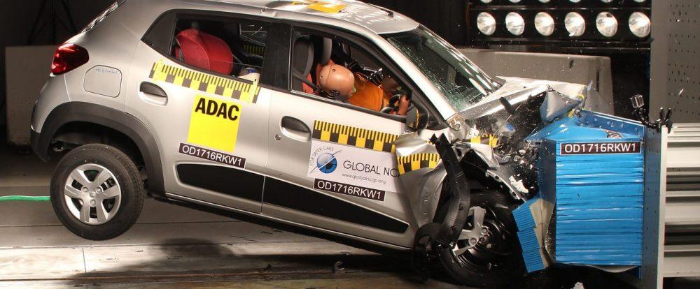 Renault Triber в краш-тесте Global NCAP: лучше, чем Kwid, но всё равно проблемный