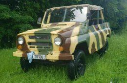 Немцы продают советский УАЗ-469 по цене «Патриота»