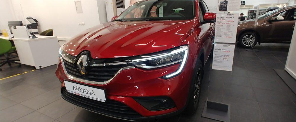 Покупки через интернет: самые популярные модели в онлайн-шоуруме Renault – Arkana и Kaptur