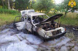 В Ярцеве за сутки дважды горели автомобили