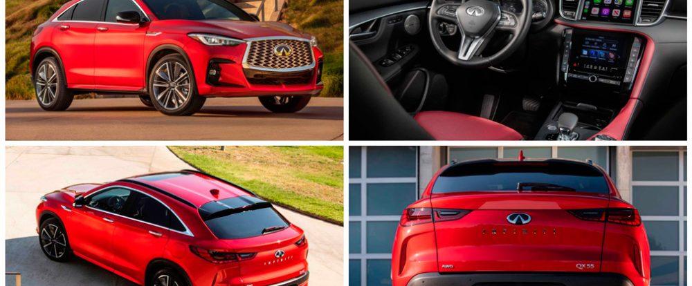 Кросс-купе Infiniti QX55 скоро стартует в РФ: заметно дороже брата, зато дешевле «немцев»