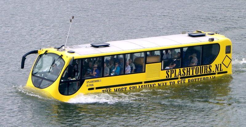 Москва хочет закупить плавающие автобусы за 545 миллионов рублей