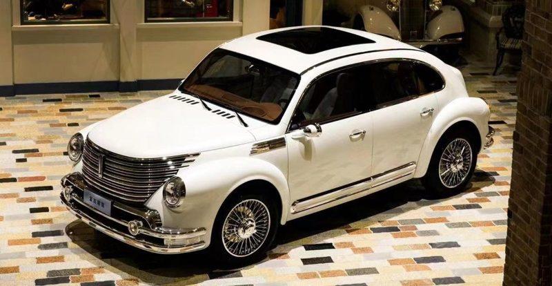 Китайская компания Great Wall сделала необычный автомобиль в ретро-стиле
