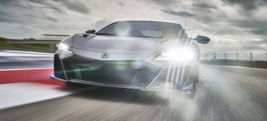 Acura подготовила «прощальную» версию спорткара NSX
