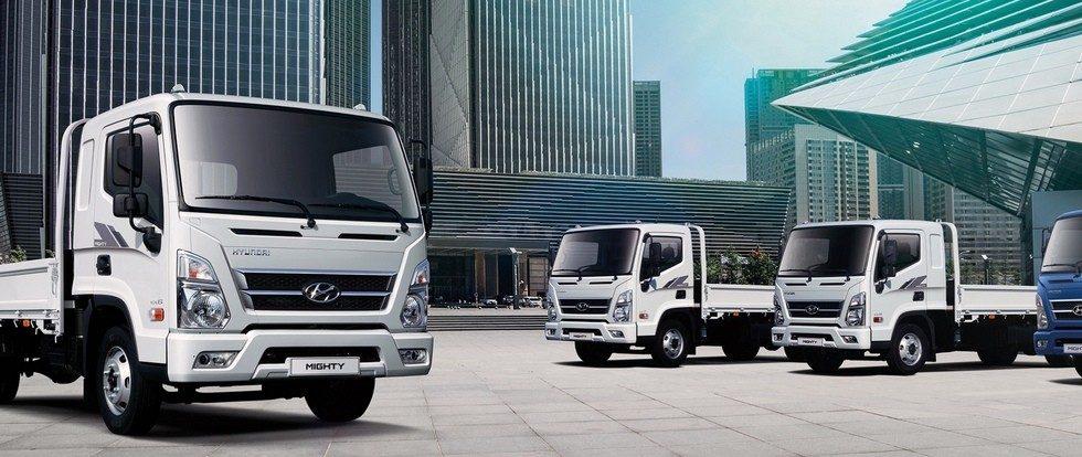Грузовики Hyundai в РФ: в планах телематика и локальное производство самого тяжелого Mighty