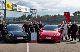 Tesla Model S Plaid стала самым быстрым серийным электромобилем Нюрбургринга