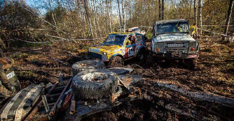 В Смоленской области прошли гонки по бездорожью